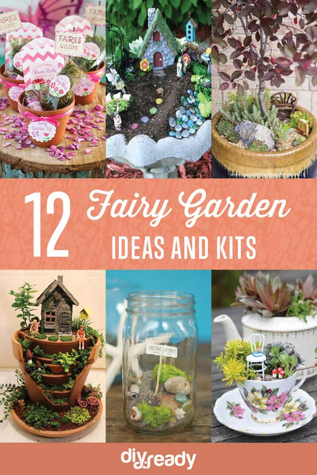 Fairy Garden Ideas And Kits DIY Projects Craft Ideas & How To's