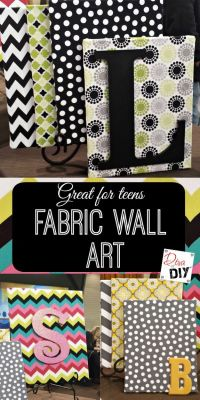 Fabric Crafts DIY Projects Craft Ideas & How Tos for Home