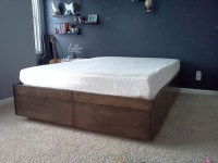 DIY Platform Bed Ideas | DIY Projects Craft Ideas & How To ...