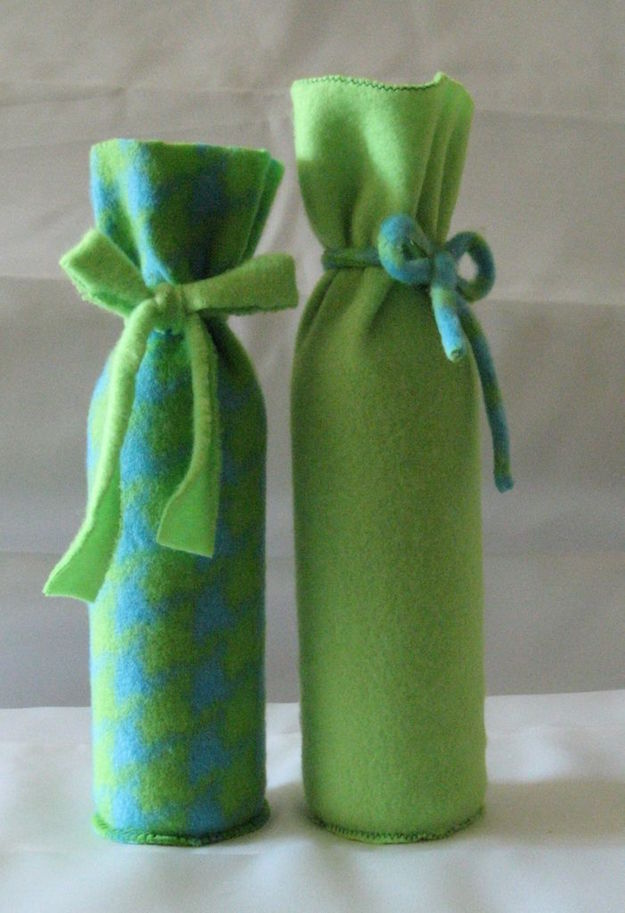 Making Scarves Fleece