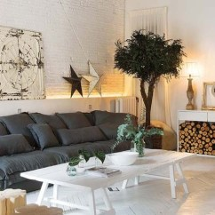 Living Room Firewood Holder Pictures Of Beautiful Rooms With Leather Couches 11 Storage Ideas For A Clutter Free Home Diy Projects Console Table You Can Recreate This Winter Season