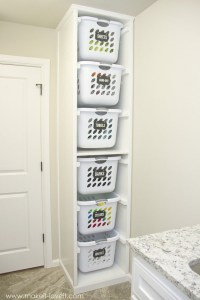 11 Laundry Storage Ideas | DIY Projects