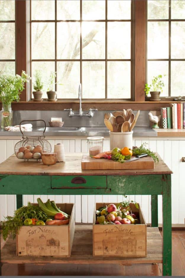 Simple DIY Kitchen Island Ideas for Everyone
