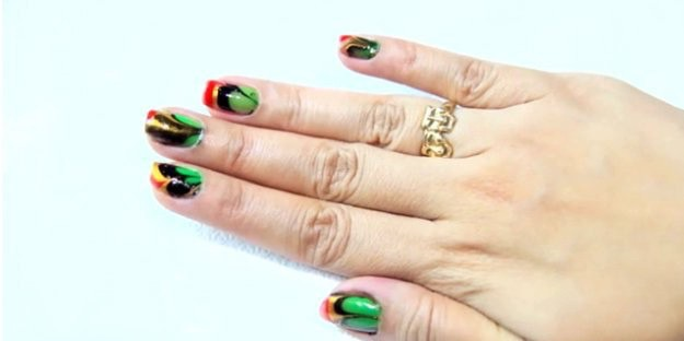 Marble Nail Art Cool Crafts For S Diy Projects