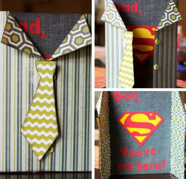 Father's Day Cards 21 DIY Ideas And Designs DIY Projects