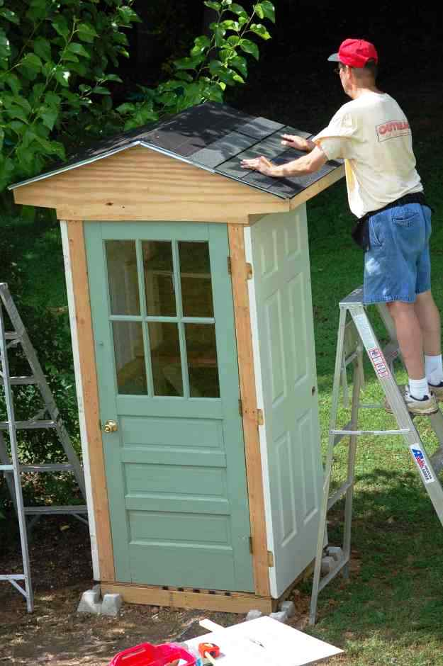 Outdoor Garden Shed Plans