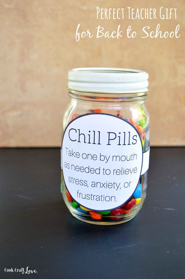 Chill Pills | DIY Teacher Gifts To Ring In The New School Year
