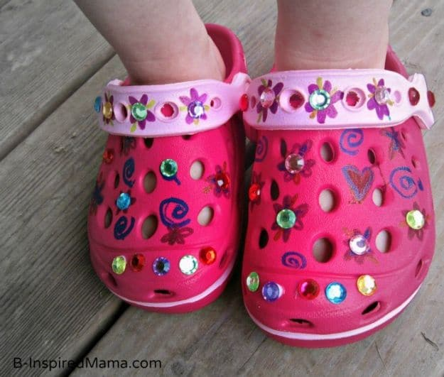 Kid's Summer Shoe | Simple DIY Crafts For Kids