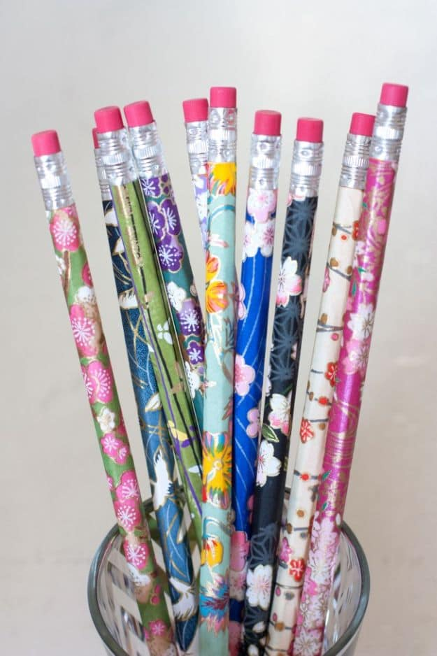 Wrapped Pencils | Easy Crafts To Make And Sell