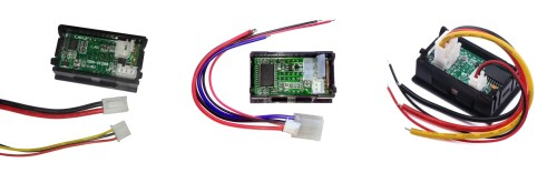 small resolution of 100v 10a dc volt and ammeters with differently colored wires