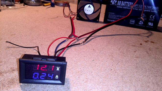 diy solar panel wiring diagram valeo marine alternator how to wire digital dual display volt- and ammeter - projects