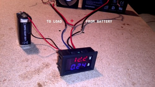 small resolution of volt ammeter with external power supply