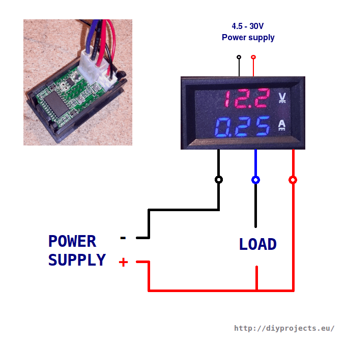 Wiring Diagram Voltage Meter Wiring Diagram Digital Volt Meter Wiring