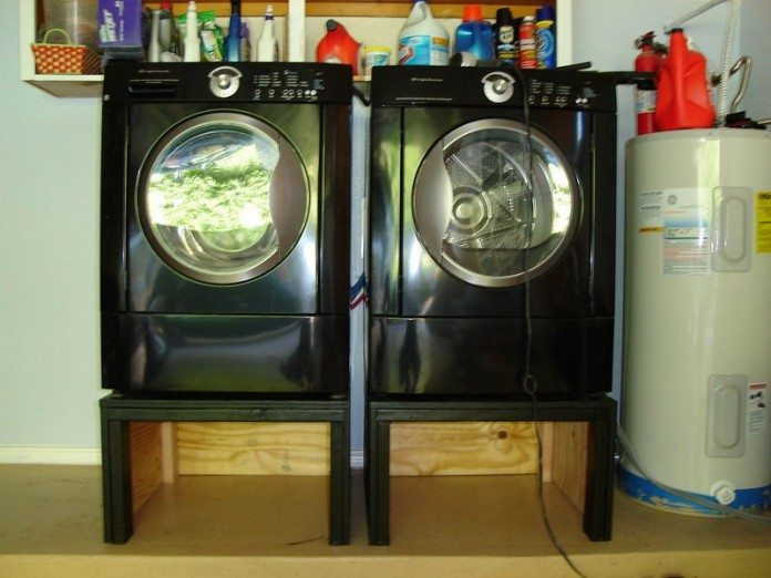 Washing Machine and Dryer Pedestal  DIY projects for everyone
