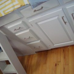 Height Of Kitchen Bench Cabinet Knobs Cheap Platform Bed With Storage Made From Cabinets ...