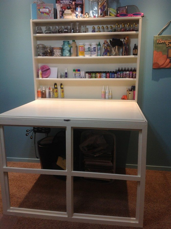 Murphy Craft Table  DIY projects for everyone