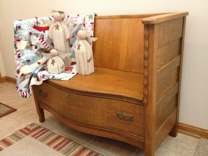 How to turn an old dresser into a seating furniture  DIY projects for everyone