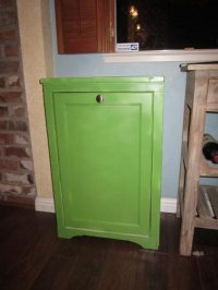 How to build a tilt-out trash cabinet | DIY projects for ...