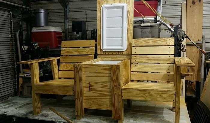 Build a double chair bench with table  DIY projects for