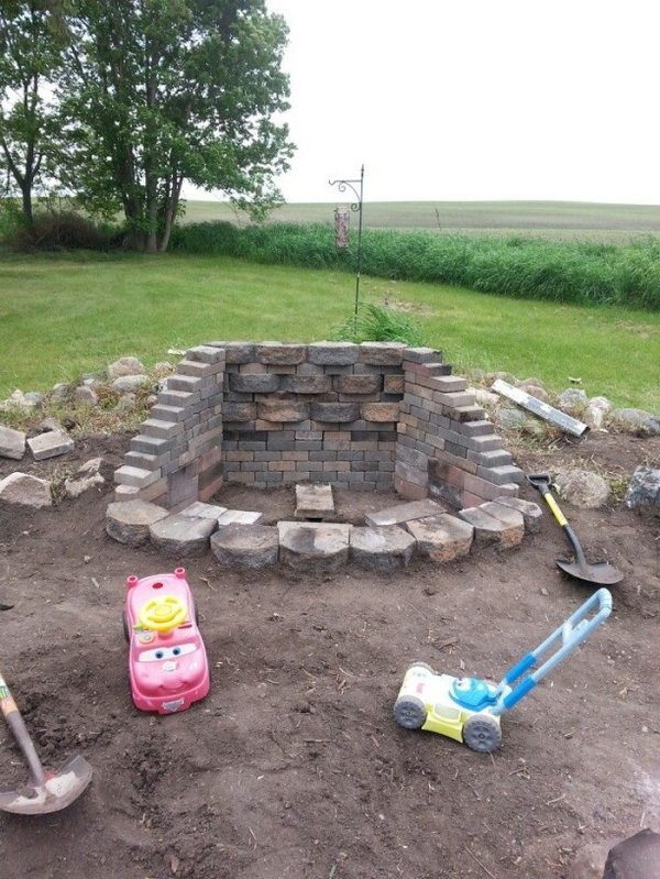 25 Landscape Block Adhesive Mortar For Fire Pit Pictures And Ideas