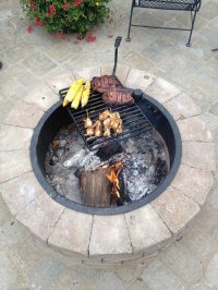 Fire pit with cooking grill | DIY projects for everyone!