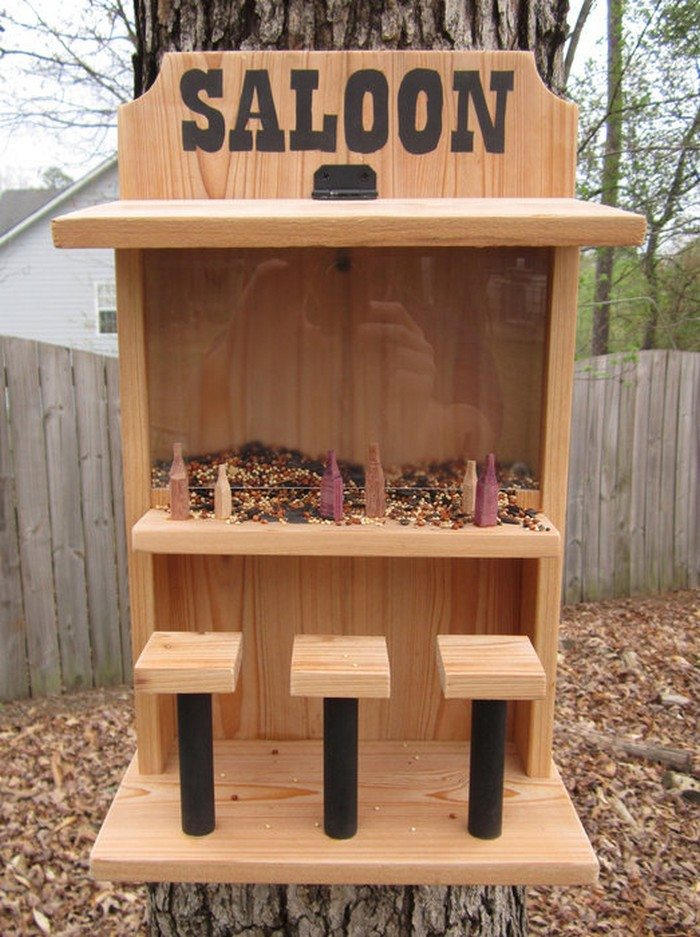 How To Make A Saloon Bird Feeder DIY Projects For Everyone