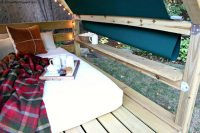 Unwind in your backyard with a cozy DIY outdoor cabana ...