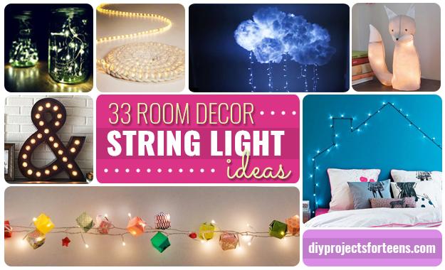 33 Awesome DIY String Light Ideas