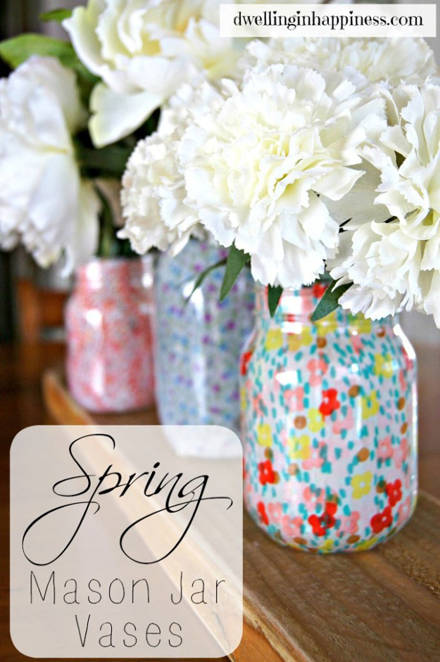 Decorating Mason Jars For Drinking