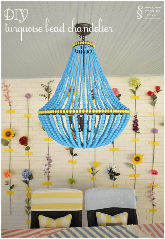 21 Brilliant Turquoise DIY Room Decor Ideas