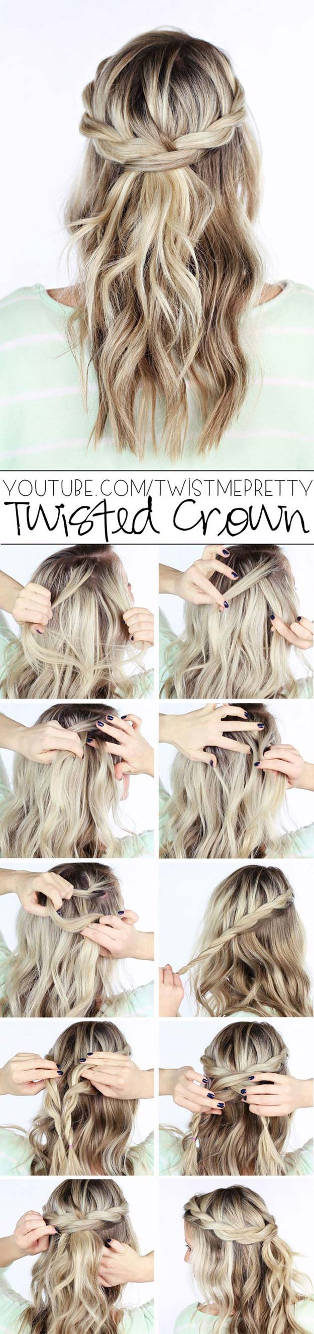 41 DIY Cool Easy Hairstyles That Real People Can Actually Do at Home  DIY Projects for Teens