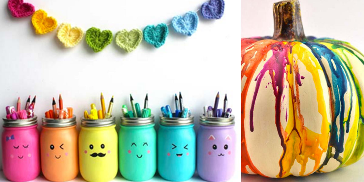 36 Diy Rainbow Crafts That Will Make You Smile All Day Long Diy Projects For Teens