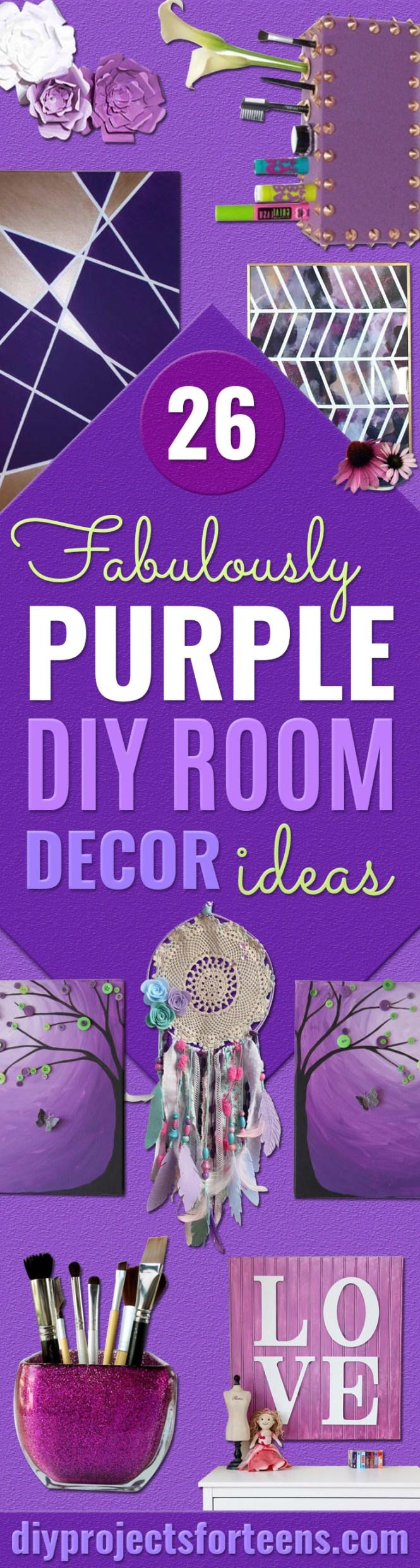 Beautiful Purple Bedroom Decor Ideas And Decorating Walls Home Pleasant