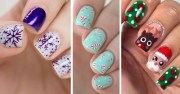 creative holiday nail art patterns