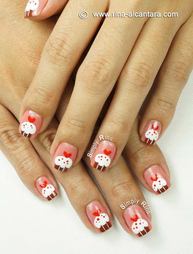 Tired Of Soimple White French Tip Play With The Clic Style By Making It Red