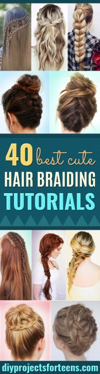 40 of the Best Cute Hair Braiding Tutorials - DIY Projects ...