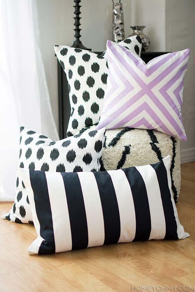 45 Fun DIY pillows