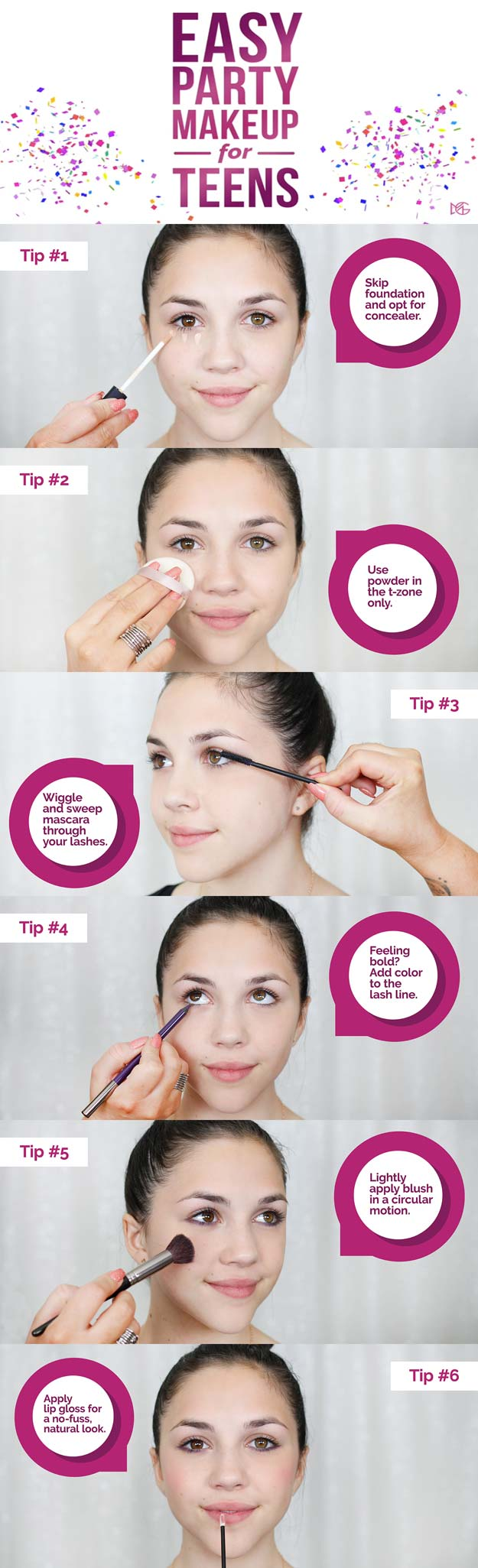 24 Cool Makeup Tutorials For Teens Diy Projects For Teens