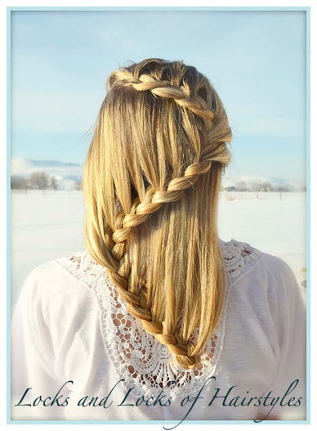 40 Of The Best Cute Hair Braiding Tutorials DIY Projects