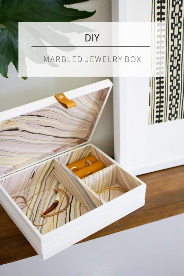 32 Creative DIY Jewelry Boxes And Storage Ideas