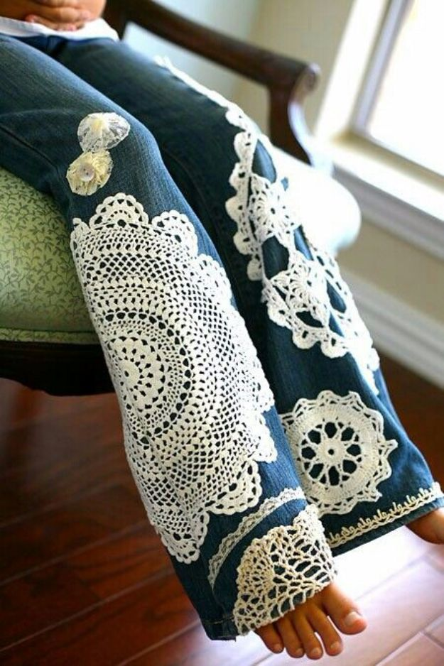 36 Genius Ways To Transform Your Jeans Diy Projects For