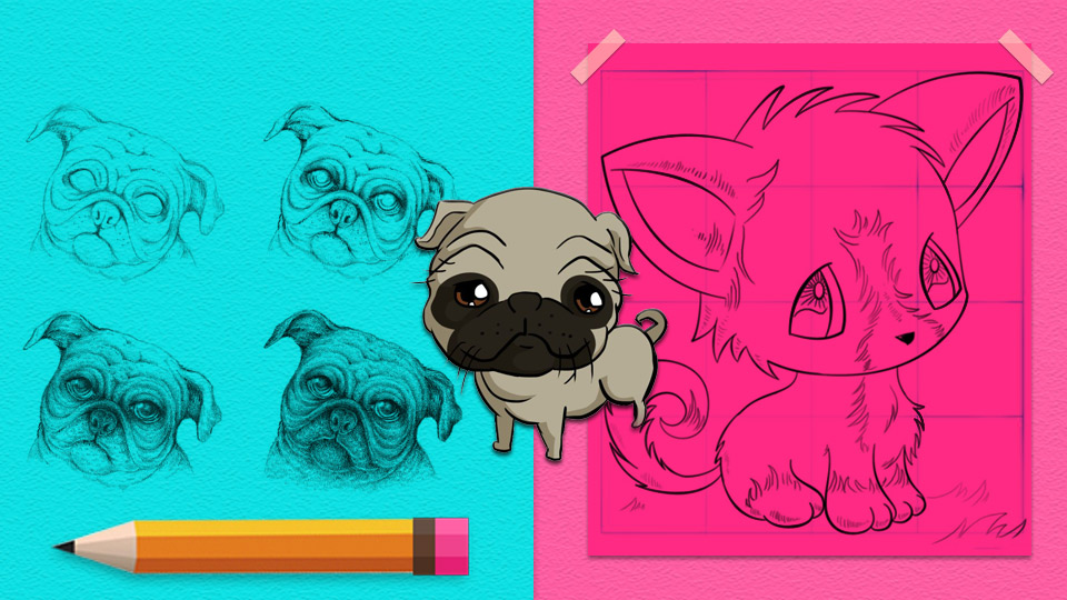 30 Ways To Draw Dogs Diy Projects For Teens