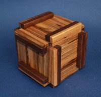 Wood Puzzle Boxes Making PDF Plans