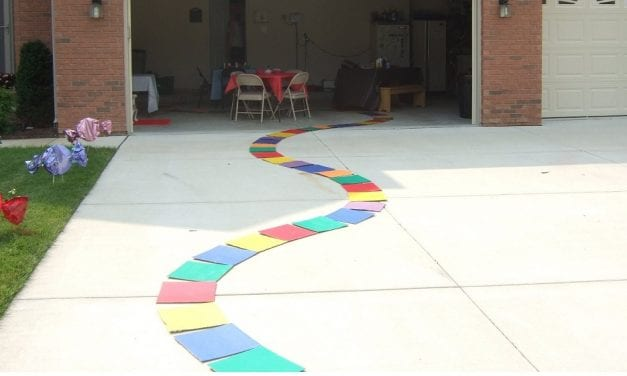 How to Make a Candyland Path