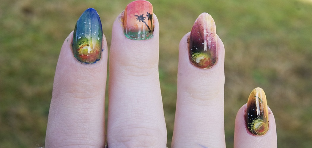 How To Make Reusable Nail Stencils