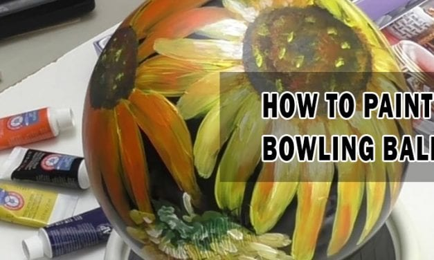 How to Paint Bowling Balls
