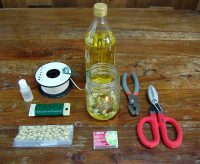 DIY Mason Jar Oil Lamp | Pioneer Settler