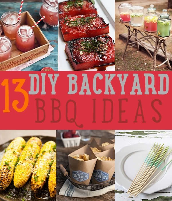 13 DIY Projects Amp Recipes For A Backyard BBQ DIY Ready