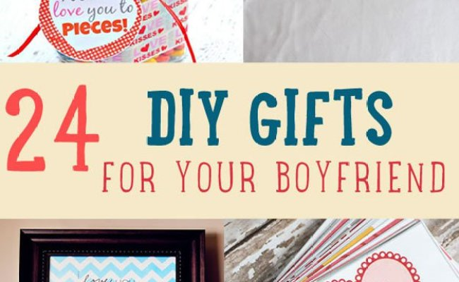 24 Diy Gifts For Your Boyfriend Christmas Gifts For