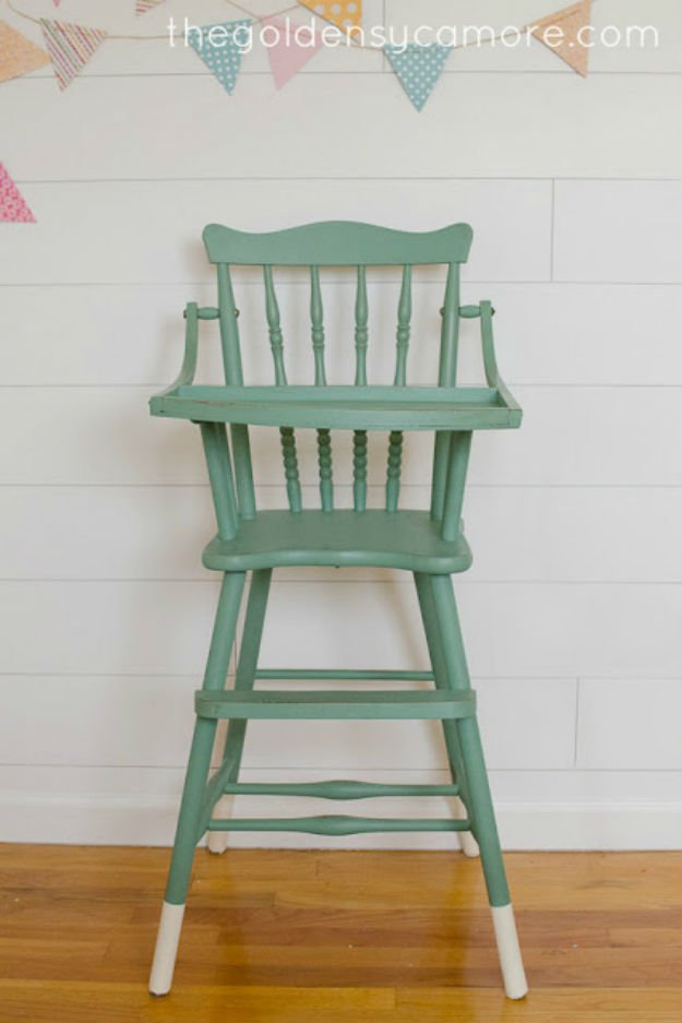 mid century modern rocking chair canada kids adirondack 20 awesome chalk paint furniture ideas diy ready